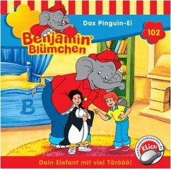 Das Pinguin-Ei / Benjamin Blümchen Bd.102 (1 Audio-CD)