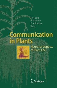 Communication in Plants - Baluška, František / Mancuso, Stefano / Volkmann, Dieter (eds.)