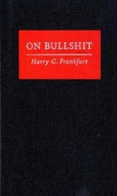 On Bullshit - Frankfurt, Harry G.