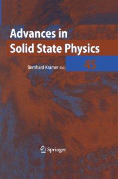 Advances in Solid State Physics 45 - Kramer, Bernhard (Bearb.)