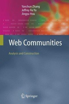 Web Community - Zhang, Yanchun;Yu, Jeffrey Xu;Hou, Jingyu