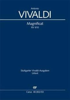 Magnificat RV 610, Klavierauszug