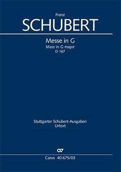 Messe Nr.2 G-Dur D 167, Klavierauszug