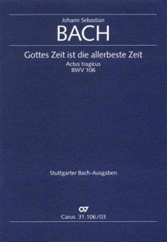 Kantate Nr.106 (Actus tragicus) F-Dur, Klavierauszug