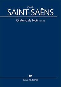 Oratorio de Noel (Weihnachtsoratorium) op.12, lateinisch, Klavierauszug - Saint-Saëns, Camille