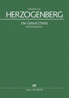 Die Geburt Christi op.90, Klavierauszug - Herzogenberg, Heinrich von