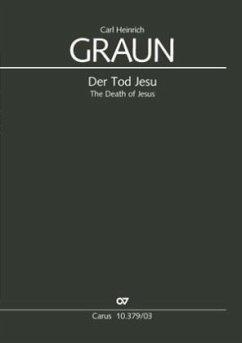 Der Tod Jesu Es-Dur, Klavierauszug - Graun, Carl H.