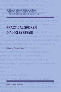 Practical Spoken Dialog Systems - Dahl, Deborah (ed.)