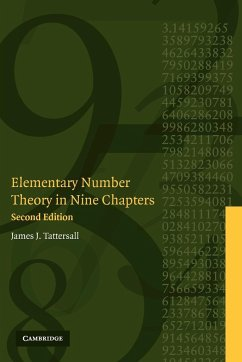 Elementary Number Theory in Nine Chapters - Tattersall, James J.