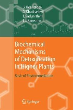 Biochemical Mechanisms of Detoxification in Higher Plants - Khatisashvili, Gia; Kvesitadze, George; Ramsden, Jeremy J.; Sadunishvili, Tinatin