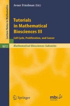 Tutorials in Mathematical Biosciences III - Friedman, Avner (ed.)