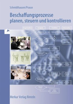 Beschaffungsprozesse planen, steuern und kontrollieren - Schmidthausen, Michael; Prause, Petra