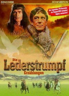 Die Lederstrumpf Erzählungen, 2 DVD-Videos - Hellmuth Lange/Pierre Massimi