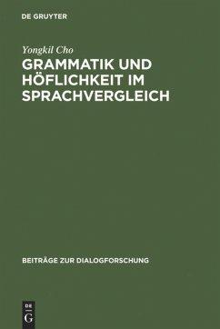 Grammatik und Höflichkeit im Sprachvergleich