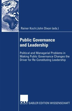 Public Governance and Leadership