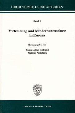 Vertreibung und Minderheitenschutz in Europa - Kroll, Frank-Lothar / Niedobitek, Matthias (Hgg.)