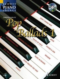 Pop Ballads, für Klavier, m. Audio-CD