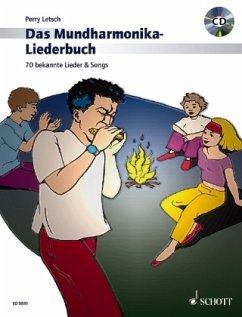 Das Mundharmonika-Liederbuch, m. Audio-CD - Letsch, Perry