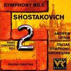 Shostakovich:Sinf.5/Klav.Kon
