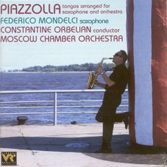 Piazzolla Tangos/Sax+Orch. - Mondelci/Orbelian/Moscow Chamber Orchestra