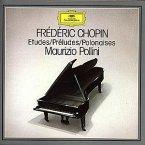 Etüden Op.10&25 (Ga)/Preludes Op.28/Polonaisen 1-7