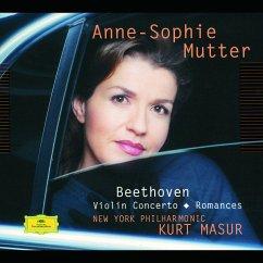 Violinkonzert Op.61/Violinromanzen 1,2 - Anne-Sophie Mutter/Kurt Masur/New York Philharmonic