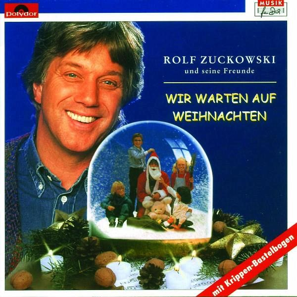 wir warten auf weihnachten 1 cd audio von rolf zuckowski. Black Bedroom Furniture Sets. Home Design Ideas