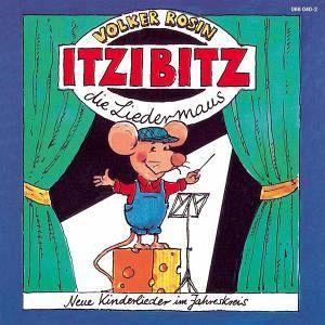 Itzibitz,Die Liedermaus von Volker Rosin auf Audio CD