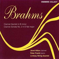 Klarinettenquintett/Sonate - Hilton/Lindsay String Quartet