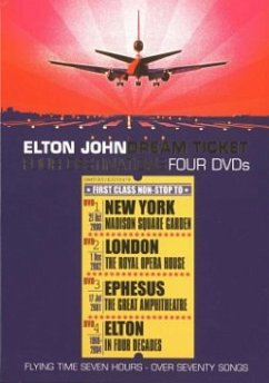 Elton John - Dream Ticket (4 DVDs) - John,Elton