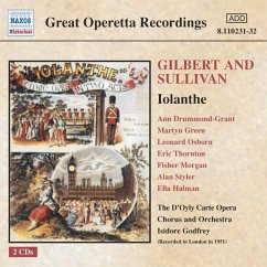 Iolanthe - Isidore Godfrey/D'Oyly Carte Opera Chrous And Orchestra