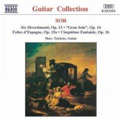 Gitarrenmusik Op.13-16 - Teichholz,Marc