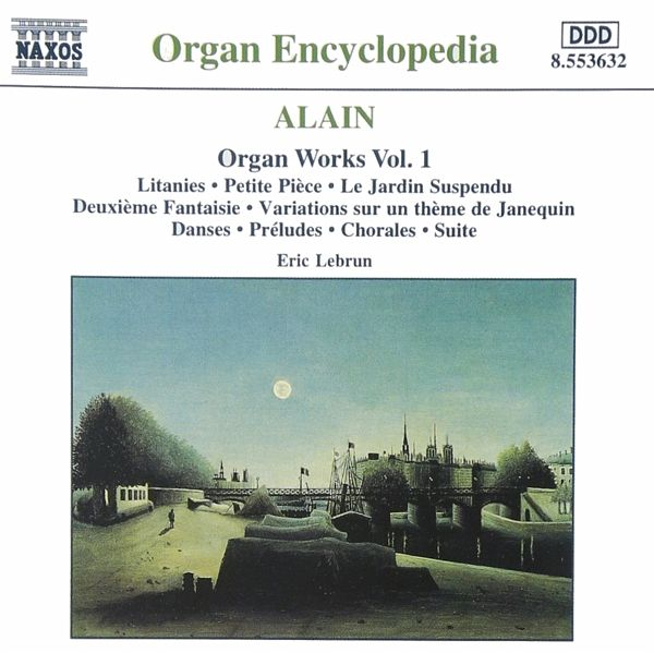 Orgelwerke Vol.1 - Eric Lebrun