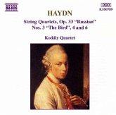 Streichquartette Op.33,3+4+6