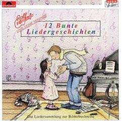 Zwölf (12) Bunte Liedergeschichten. CD - Zuckowski, Rolf