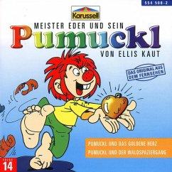 Pumuckl und das goldene Herz/Pumuckl und der Waldspaziergang / Pumuckl Bd.14 (1 Audio-CD)