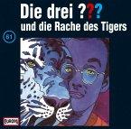Die drei ??? und die Rache des Tigers, 1 Audio-CD