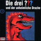 Die drei Fragezeichen und der unheimliche Drache / Die drei Fragezeichen - Hörbuch Bd.7 (1 Audio-CD)