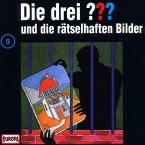 Die drei Fragezeichen und die rätselhaften Bilder / Die drei Fragezeichen - Hörbuch Bd.9 (1 Audio-CD)