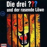 Die drei Fragezeichen und der rasende Löwe / Die drei Fragezeichen - Hörbuch Bd.15 (1 Audio-CD)