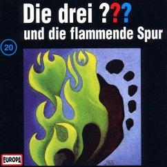 Die drei Fragezeichen und die flammende Spur / Die drei Fragezeichen - Hörbuch Bd.20 (1 Audio-CD)