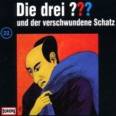 Die drei Fragezeichen und der verschwundene Schatz / Die drei Fragezeichen - Hörbuch Bd.22 (1 Audio-CD)