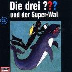 Die drei Fragezeichen und der Super Wal / Die drei Fragezeichen - Hörbuch Bd.36 (1 Audio-CD)