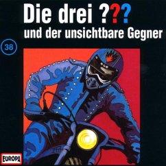 Die drei Fragezeichen und der unsichtbare Gegner / Die drei Fragezeichen - Hörbuch Bd.38 (1 Audio-CD)