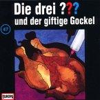 Die drei Fragezeichen und der giftige Gockel / Die drei Fragezeichen - Hörbuch Bd.47 (1 Audio-CD)