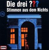 Stimmen aus dem Nichts / Die drei Fragezeichen - Hörbuch Bd.76 (1 Audio-CD)