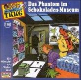 Das Phantom im Schokoladen-Museum / TKKG Bd.110 (1 Audio-CDs)