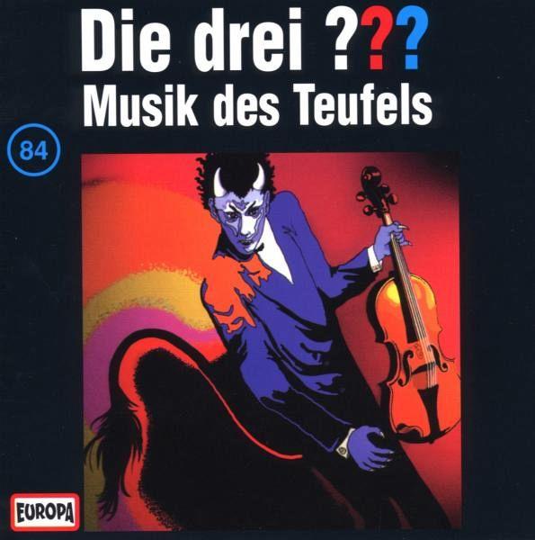 Musik des Teufels / Die drei Fragezeichen - Hörbuch Bd.84 (1 Audio-CD)