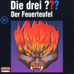 Der Feuerteufel / Die drei Fragezeichen - Hörbuch Bd.90 (1 Audio-CD)