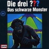 Das schwarze Monster / Die drei Fragezeichen - Hörbuch Bd.94 (1 Audio-CD)